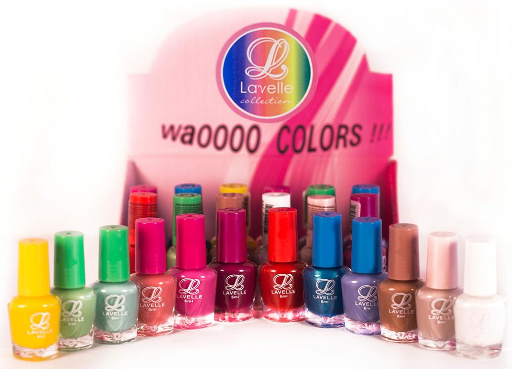 LavelleСollection лак для ногтей (мини-color) коллекция №21, 6 мл, 24 шт - Декоративная косметика