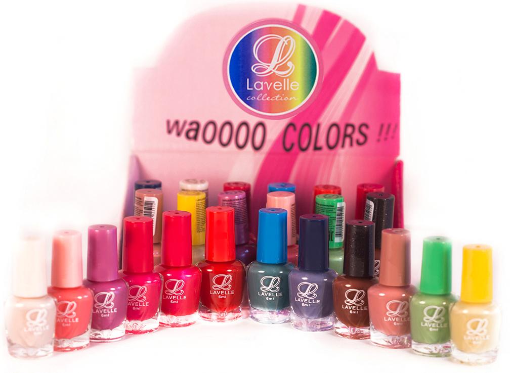 LavelleСollection лак для ногтей (мини-color) коллекция №22, 6 мл, 24 шт - Декоративная косметика