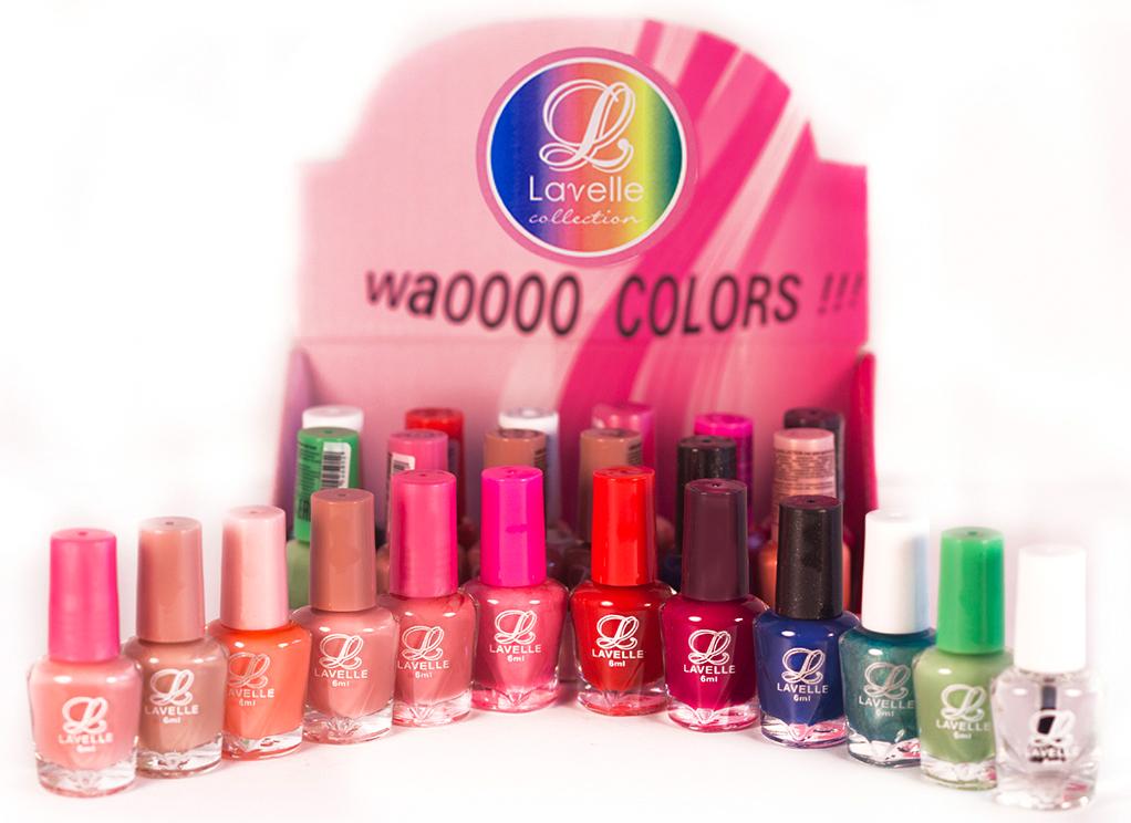 LavelleСollection лак для ногтей (мини-color) коллекция №23, 6 мл, 24 шт - Декоративная косметика