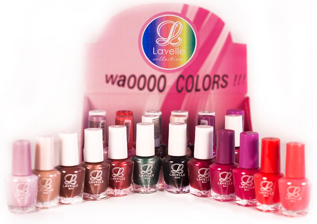 LavelleСollection лак для ногтей (мини-color) коллекция №25, 6 мл, 24 шт - Декоративная косметика