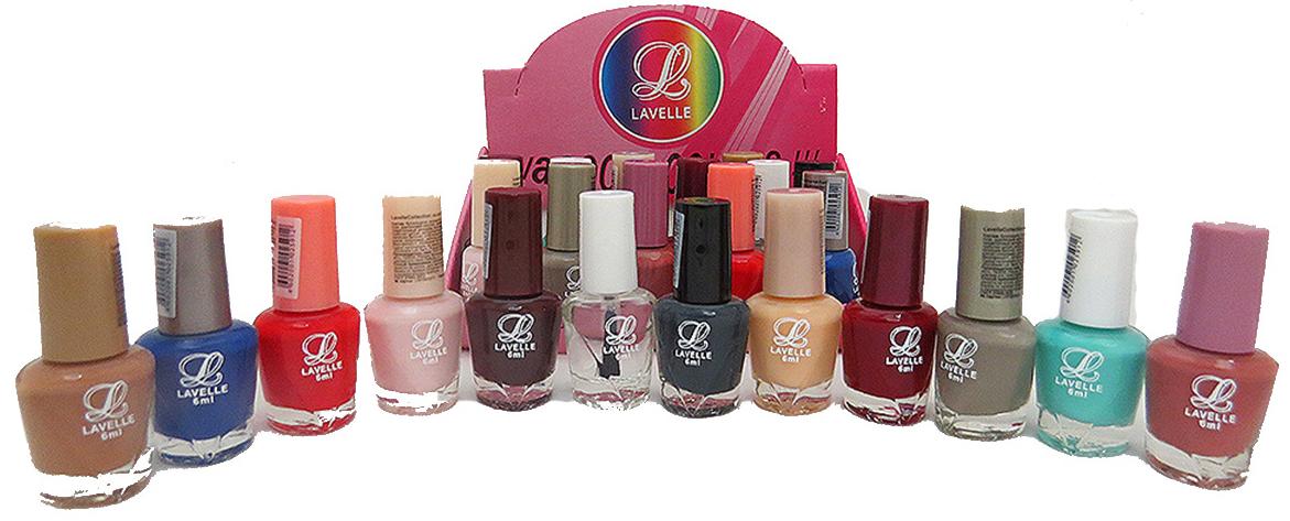 LavelleСollection лак для ногтей (мини-color) коллекция №29 осень-зима, 6 мл, 24 шт - Декоративная косметика