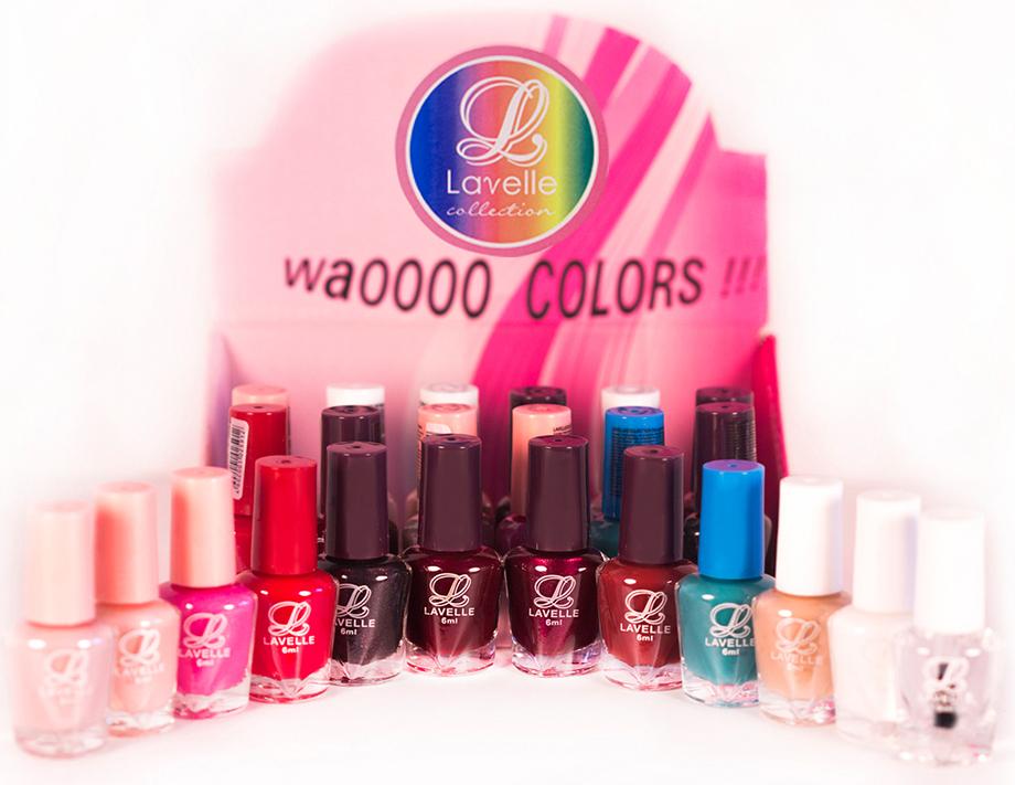 LavelleСollection лак для ногтей (мини-color) коллекция №30 осень-зима, 6 мл, 24 шт - Декоративная косметика
