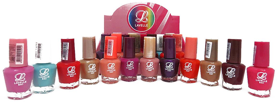 LavelleСollection лак для ногтей (мини-color) коллекция №31 осень-зима, 6 мл, 24 шт - Декоративная косметика