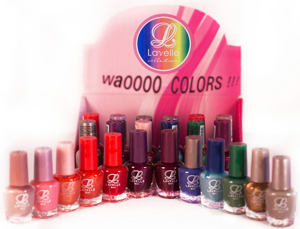 LavelleСollection лак для ногтей (мини-color) коллекция №33 осень-зима, 6 мл, 24 шт - Декоративная косметика