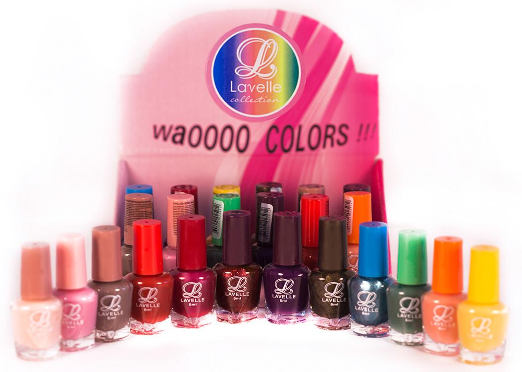 LavelleСollection лак для ногтей (мини-color) коллекция №34 осень-зима, 6 мл, 24 шт - Декоративная косметика