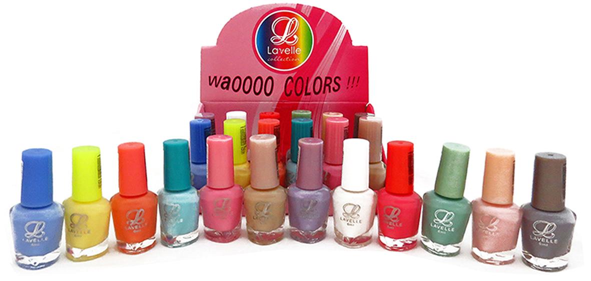 LavelleСollection лак для ногтей (мини-color) коллекция №35 весна-лето, 6 мл, 24 шт - Декоративная косметика