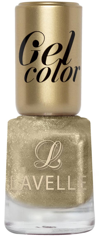 LavelleСollection лак для ногтей Gel Color тон 005 золото, 12 мл