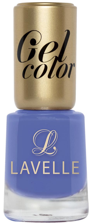 LavelleСollection лак для ногтей Gel Color тон 009 серо-голубой, 12 мл