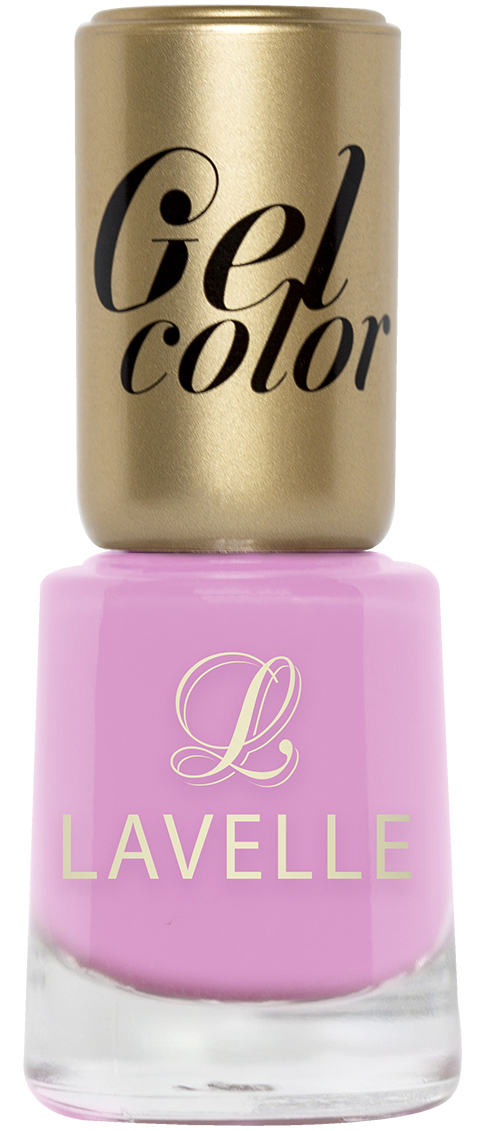 LavelleСollection лак для ногтей Gel Color тон 015 розовая пастель, 12 мл