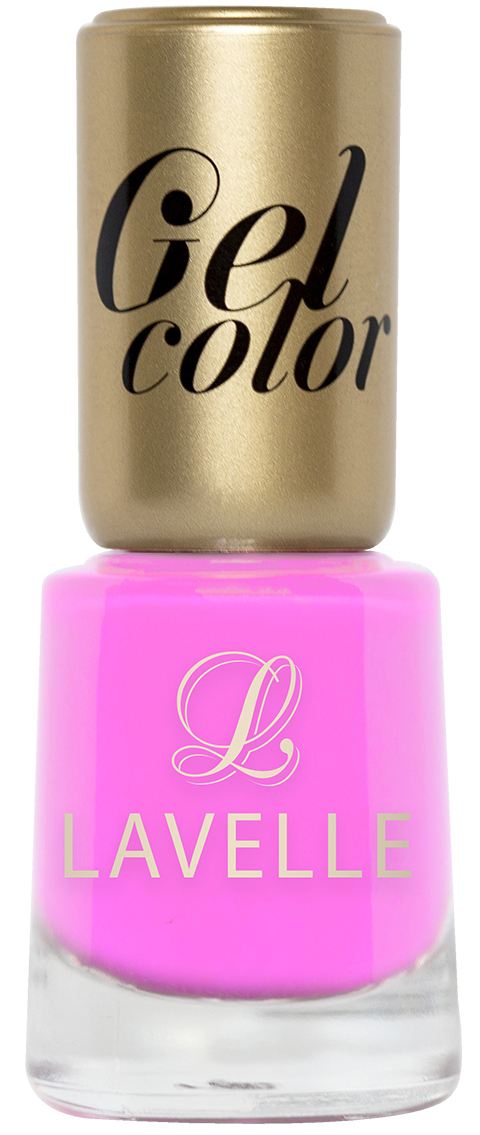 LavelleСollection лак для ногтей Gel Color тон 016 фламинго, 12 мл