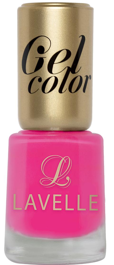 LavelleСollection лак для ногтей Gel Color тон 018 фуксия, 12 мл
