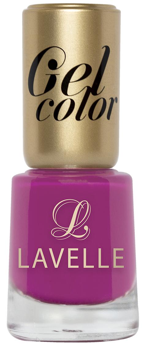 LavelleСollection лак для ногтей Gel Color тон 020 сочная малина, 12 мл