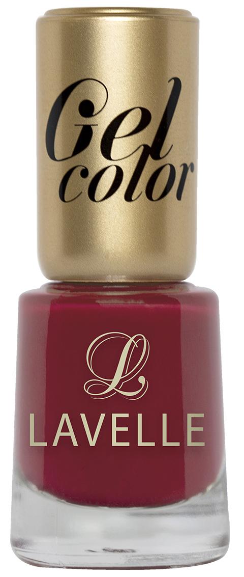 LavelleСollection лак для ногтей Gel Color тон 022 вишневый перламутр, 12 мл