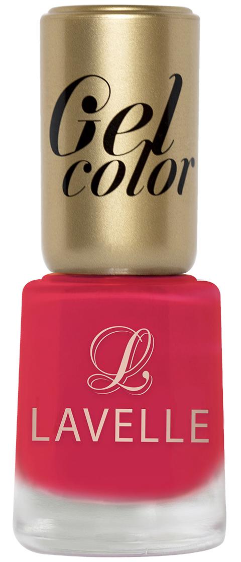 LavelleСollection лак для ногтей Gel Color тон 028 алый, 12 мл