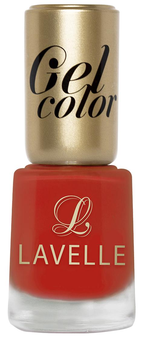 LavelleСollection лак для ногтей Gel Color тон 029 классический красный, 12 мл