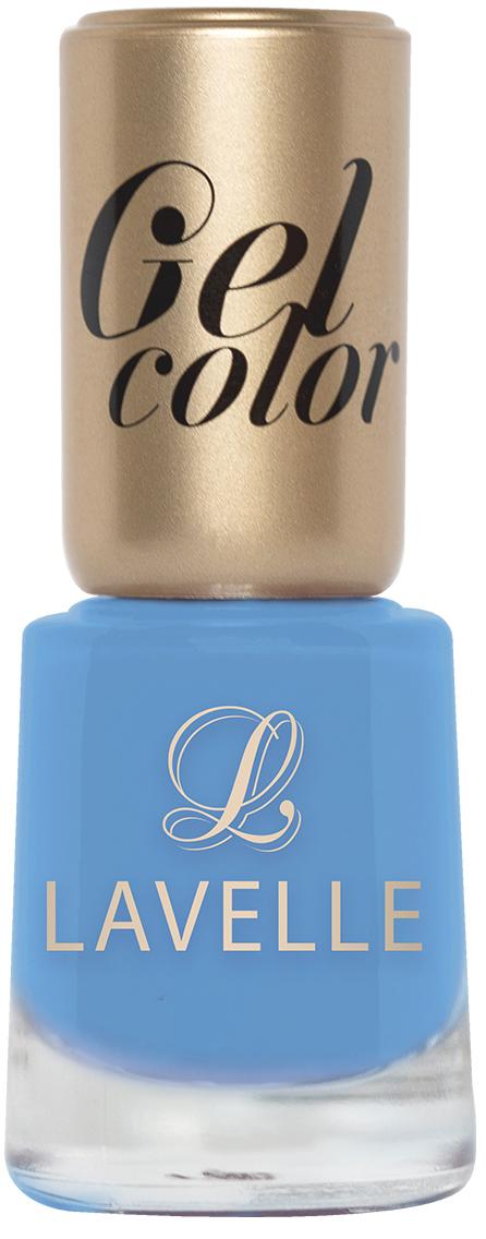 LavelleСollection лак для ногтей Gel Color тон 051 лазурный, 12 мл