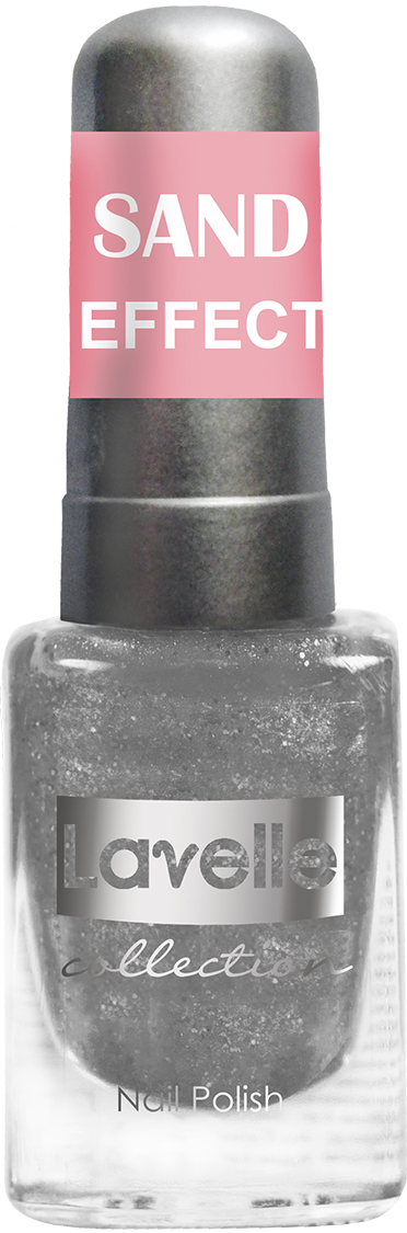 LavelleCollection лак для ногтей Sand Effect тон 659 серебряный, 6 мл