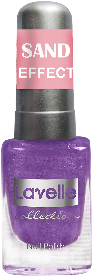 LavelleCollection лак для ногтей Sand Effect тон 662 фиолетовый, 6 мл