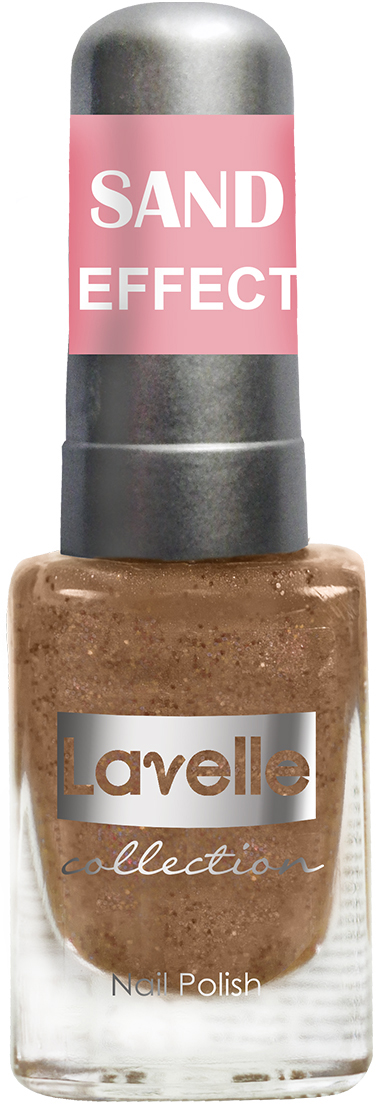 LavelleCollection лак для ногтей Sand Effect тон 664 шоколадный, 6 мл