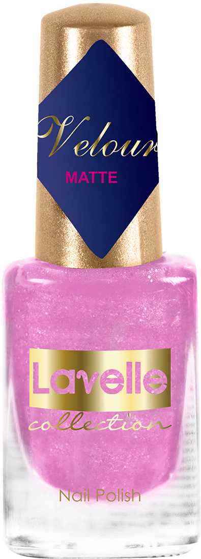 LavelleCollection лак для ногтей Velour тон 544 искрящаяся фиалка, 6 мл