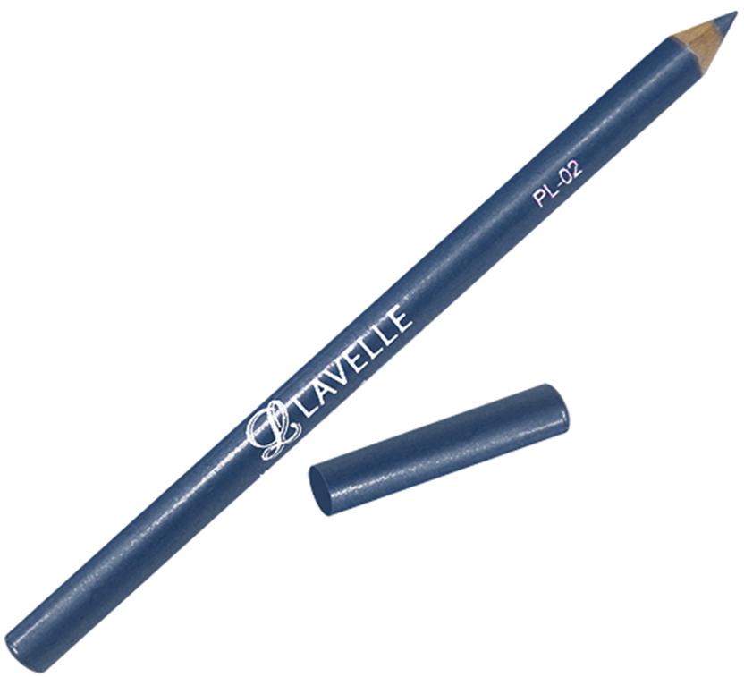LavelleCollectionКарандаш PL-02 тон 03 синий, 4 г В зависимости от цвета карандаши подойдут глаз для...