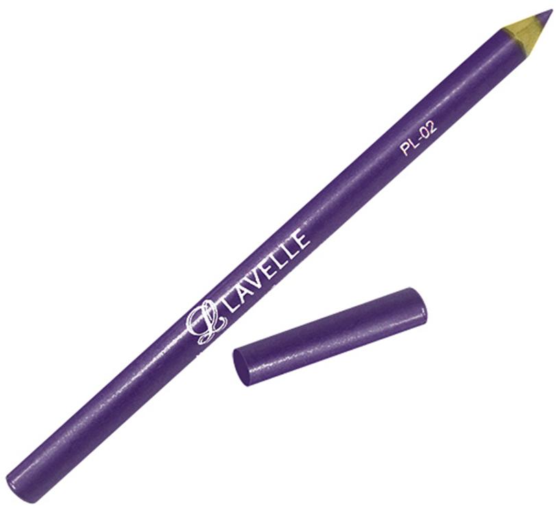 LavelleCollection Карандаш PL-02 тон 05 сиреневый, 4 гPL02-05Контурные карандаши РL 02 с улучшенной текстурой обеспечивают легкое и равномерное нанесение. Линия карандаша легко корректируется и растушёвывается. В зависимости от цвета карандаши подойдут для глаз и для губ. Пчелиный воск и ланолин, входящие в состав, обеспечивают мягкий уход за нежной кожей век и губ.