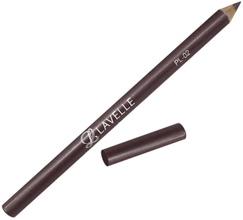 LavelleCollectionКарандаш PL-02 тон 06 темно-коричневый, 4 г Контурные карандаши РL 02 с улучшенной текстурой обеспечивают легкое...