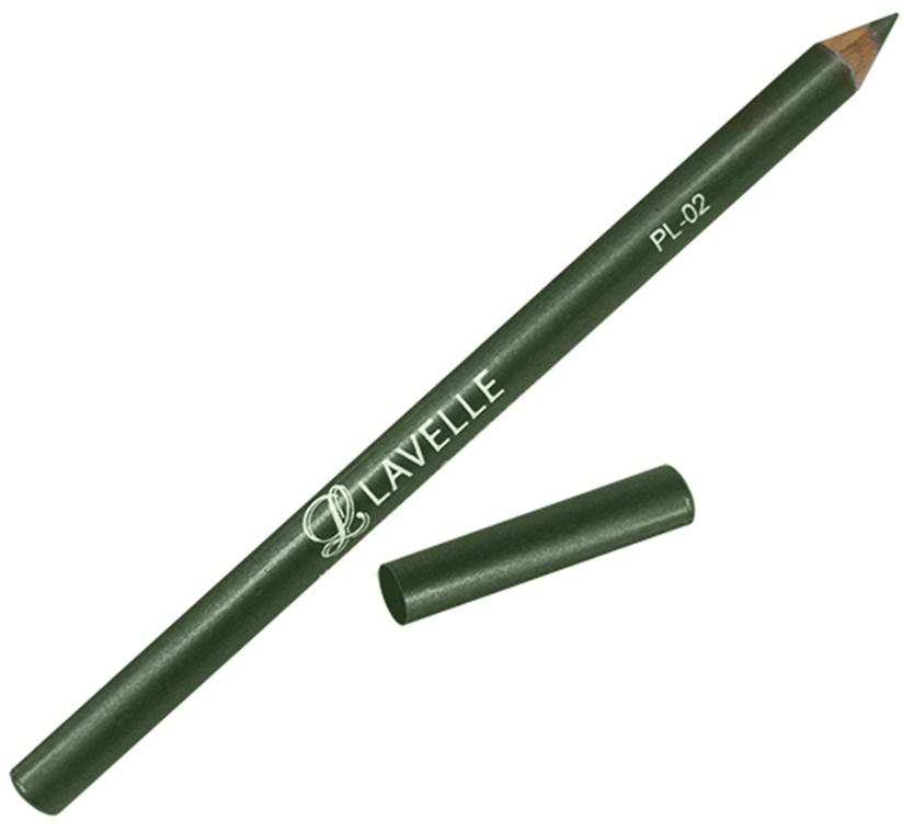 LavelleCollectionКарандаш PL-02 тон 10 темно-оливковый, 4 г Линия карандаша легко корректируется и растушёвывается. В зависимости...