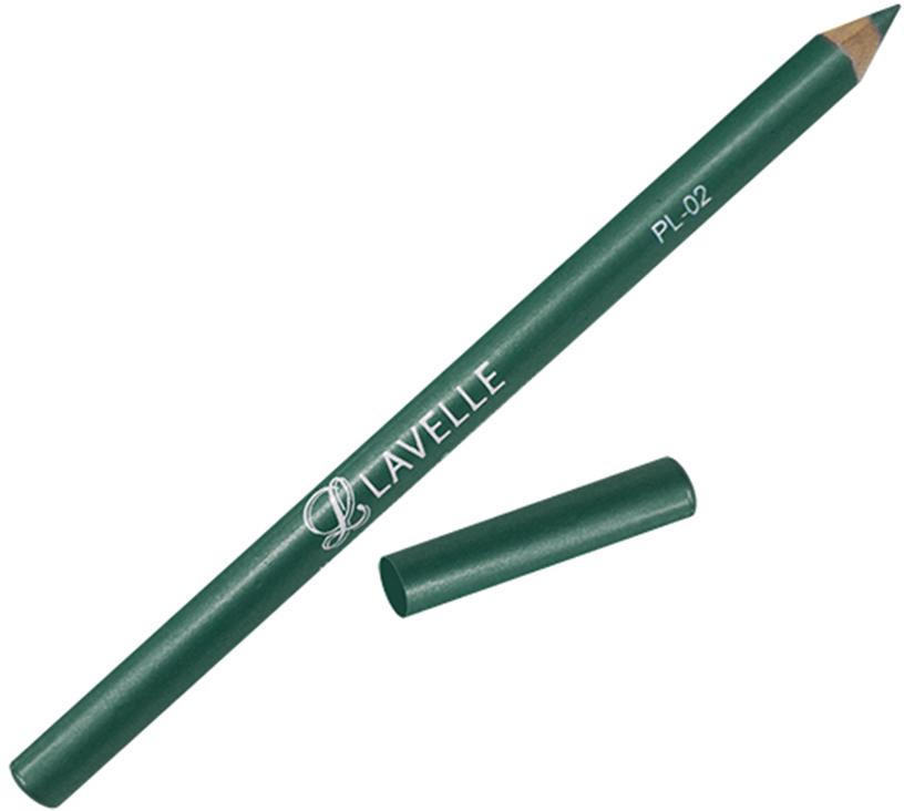 LavelleCollectionКарандаш PL-02 тон 12 зеленый, 4 г В зависимости от цвета карандаши подойдут глаз для...