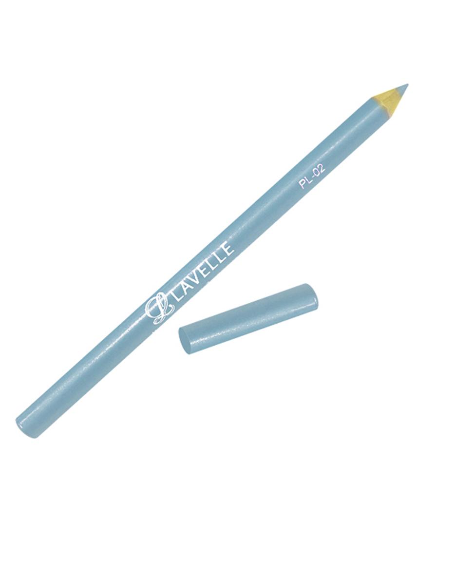 LavelleCollectionКарандаш PL-02 тон 13 небесно-голубой, 4 г Пчелиный воск и ланолин, входящие в состав, обеспечивают мягкий уход...