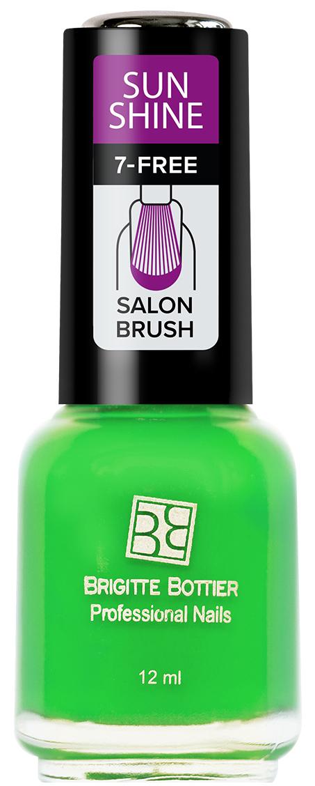 Brigitte Bottier лак для ногтей Sunshine тон 10 зеленый сочный, 12 млSU-10Sunshine - коллекция ярких, сочных оттенков. Идеально подходят для лета. Яркий маникюр поднимет Вам настроение и точно не останется незамеченным. Лак Sunshine имеет глянцевую текстуру. Легко наносится, быстро сохнет