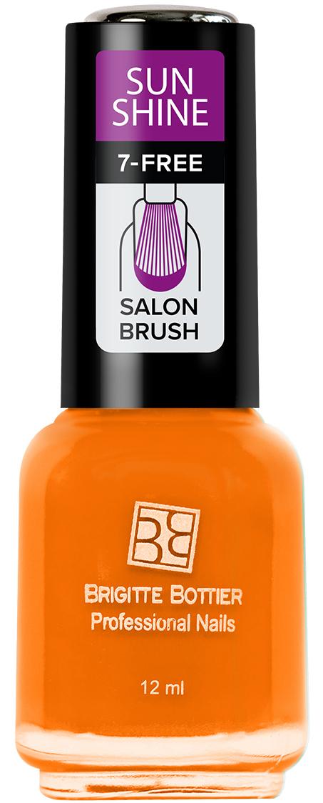 Brigitte Bottier лак для ногтей Sunshine тон 11 оранжевый сочный, 12 млSU-11Sunshine - коллекция ярких, сочных оттенков. Идеально подходят для лета. Яркий маникюр поднимет Вам настроение и точно не останется незамеченным. Лак Sunshine имеет глянцевую текстуру. Легко наносится, быстро сохнет