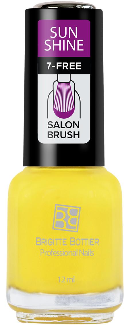 Brigitte Bottier лак для ногтей Sunshine тон 14 желтый сочный, 12 млBB-SL 451Sunshine - коллекция ярких, сочных оттенков. Идеально подходят для лета. Яркий маникюр поднимет Вам настроение и точно не останется незамеченным. Лак Sunshine имеет глянцевую текстуру. Легко наносится, быстро сохнет
