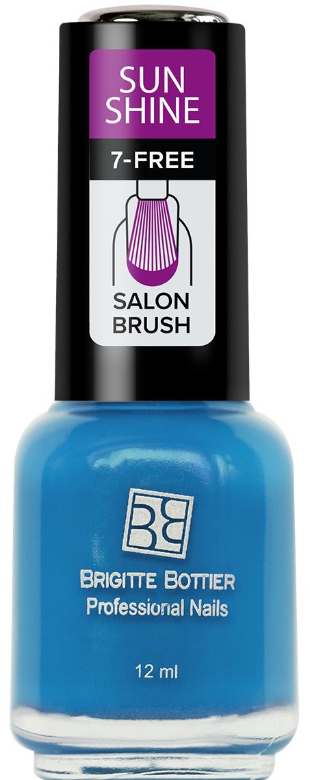 Brigitte Bottier лак для ногтей Sunshine тон 16 голубой сочный, 12 млSU-16Sunshine - коллекция ярких, сочных оттенков. Идеально подходят для лета. Яркий маникюр поднимет Вам настроение и точно не останется незамеченным. Лак Sunshine имеет глянцевую текстуру. Легко наносится, быстро сохнет