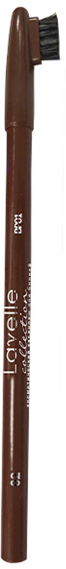 LavelleCollection карандаш для бровей ВР-01 тон 02 коричневый, 5 гВР01-02Карандаш для бровей BP 01 с щеточкой подарит Вашим бровям безупречный вид и густоту. Оптимальная гамма оттенков в палитре позволяет подобрать карандаш под любой цвет волос и макияж. Текстура обеспечивает легкое нанесение, а щеточка для бровей равномерно распределяет пигмент, придавая им естественный вид.