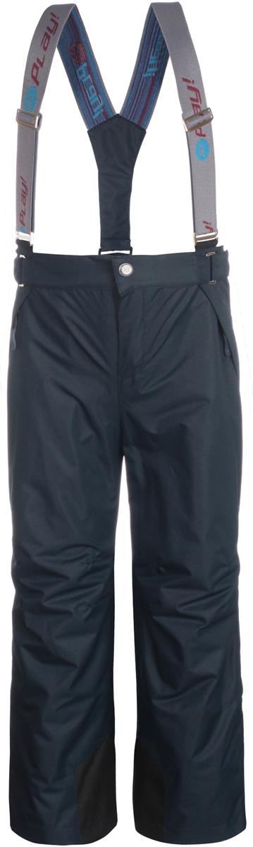 Брюки утепленные детские atPlay!, цвет: синий. 3pt816. Размер 1223pt816Удобные и функциональные детские брюки atPlay! идеально подойдут вашему ребенку в прохладное время года.Верх изделия изготовлен из качественного полиэстера, с покрытием Teflon от DuPont, которое облегчает уход за этой одеждой. Дышащая способность: 5000г/м и водонепроницаемость брюк: 5000мм, также они имеют водо- и грязеотталкивающую пропитку. Подкладка выполнена из ворсового полотна, гладкой стороной к ноге, чтобы нога скользила в брючине.