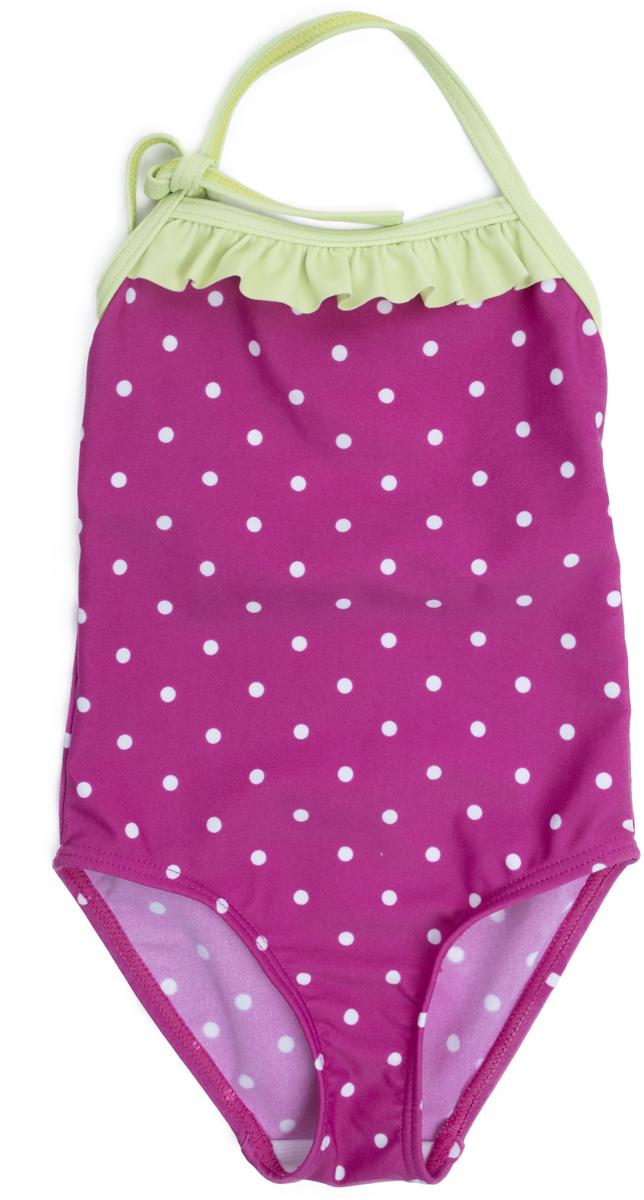 Купальник слитный для девочки PlayToday Baby Солнечная палитра, цвет: розовый. 188077. Размер 98 купальник слитный для девочки playtoday baby солнечная палитра цвет розовый 188077 размер 98