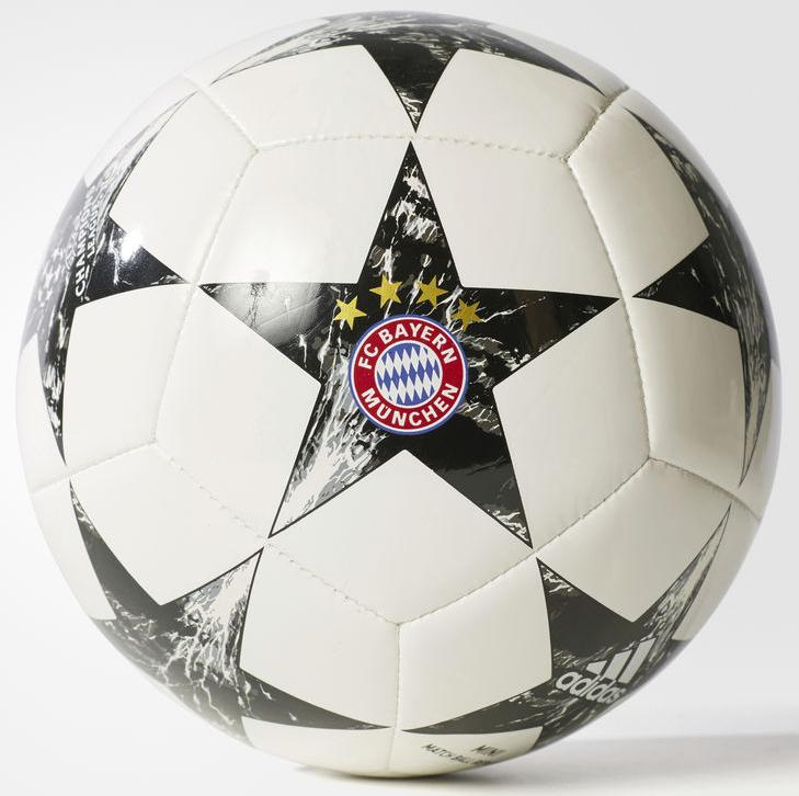 Мяч футбольный Adidas Finale17FCB Min, цвет: белый, черный. Размер 1 adidas performance ad094amqhz90 adidas performance