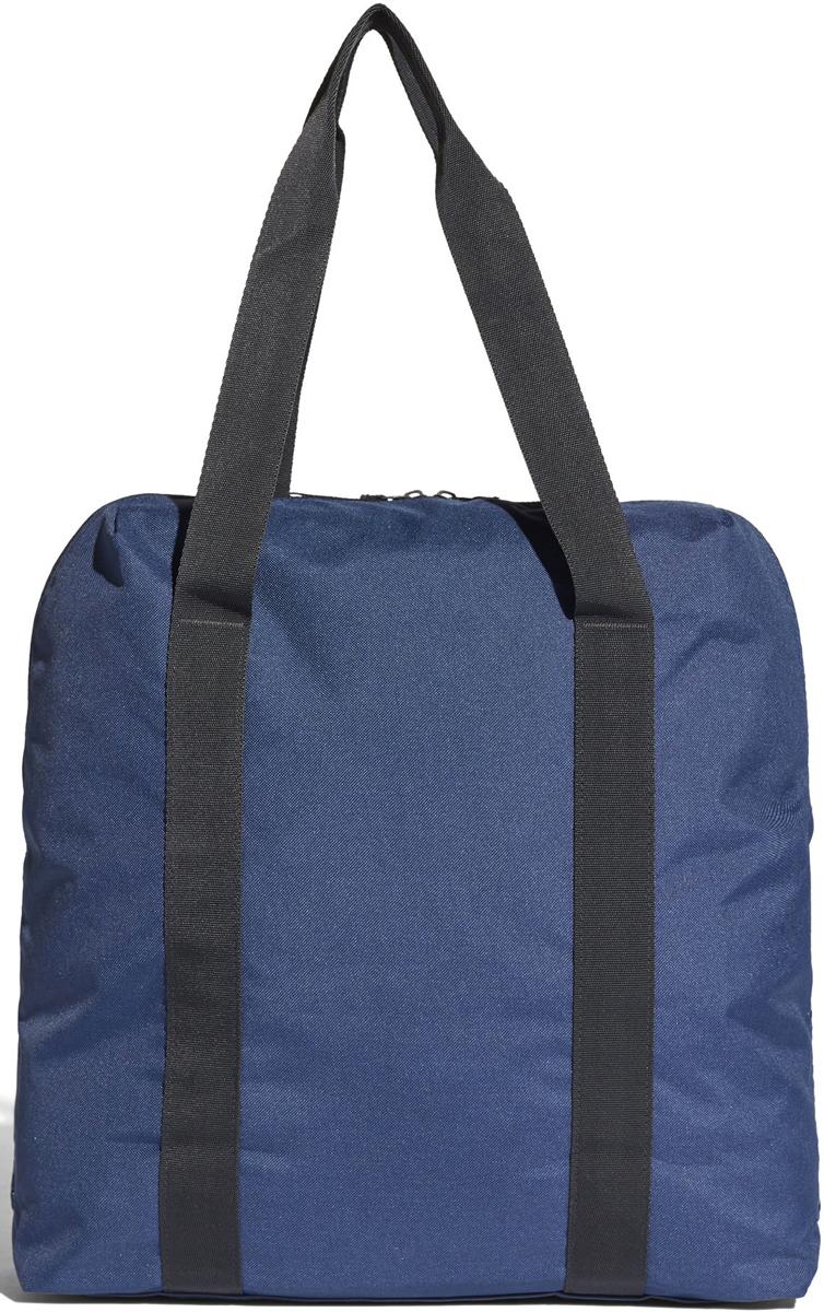 Сумка спортивная женская Adidas W TR CO TOTE, цвет: синий, 25 л. CF3367