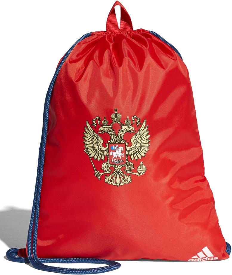 Рюкзак спортивный мужской Adidas RFU Gymbag, цвет: красный, синий, 15 л. CF4984 рюкзак adidas 2014 m67763