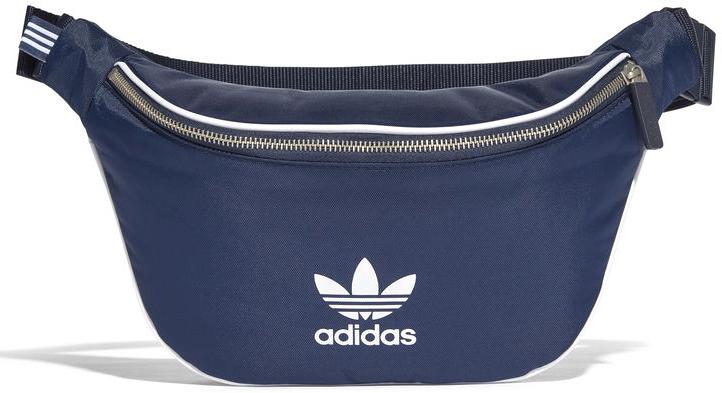 Сумка на пояс мужская Adidas Waistbag Ac, цвет: синий. CW0608CW0608Стильная сумка Adidas выполнена из легкого материала для активного образажизни. Несмотря на компактный размер в ней поместится все самоенеобходимое. Модель имеет основное отделение на молнии и внутреннийкарман на молнии. Прочное основание выполнено из термопластичногоэластомера. Изделие снабжено удобным регулируемым ремнем с застежкой.С лицевой стороны модель дополнена контрастной отделкой швов ифирменным логотипом Adidas.