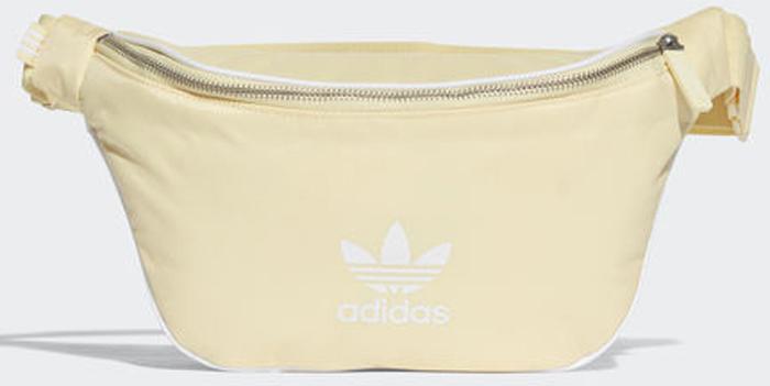 Сумка на пояс женская Adidas Waistbag Ac, цвет: желтый. CW061CW0614Стильная сумка Adidas выполнена из легкого материала для активного образажизни. Несмотря на компактный размер в ней поместится все самоенеобходимое. Модель имеет основное отделение на молнии и внутреннийкарман на молнии. Прочное основание выполнено из термопластичногоэластомера. Изделие снабжено удобным регулируемым ремнем с застежкой.С лицевой стороны модель дополнена контрастной отделкой швов ифирменным логотипом Adidas.