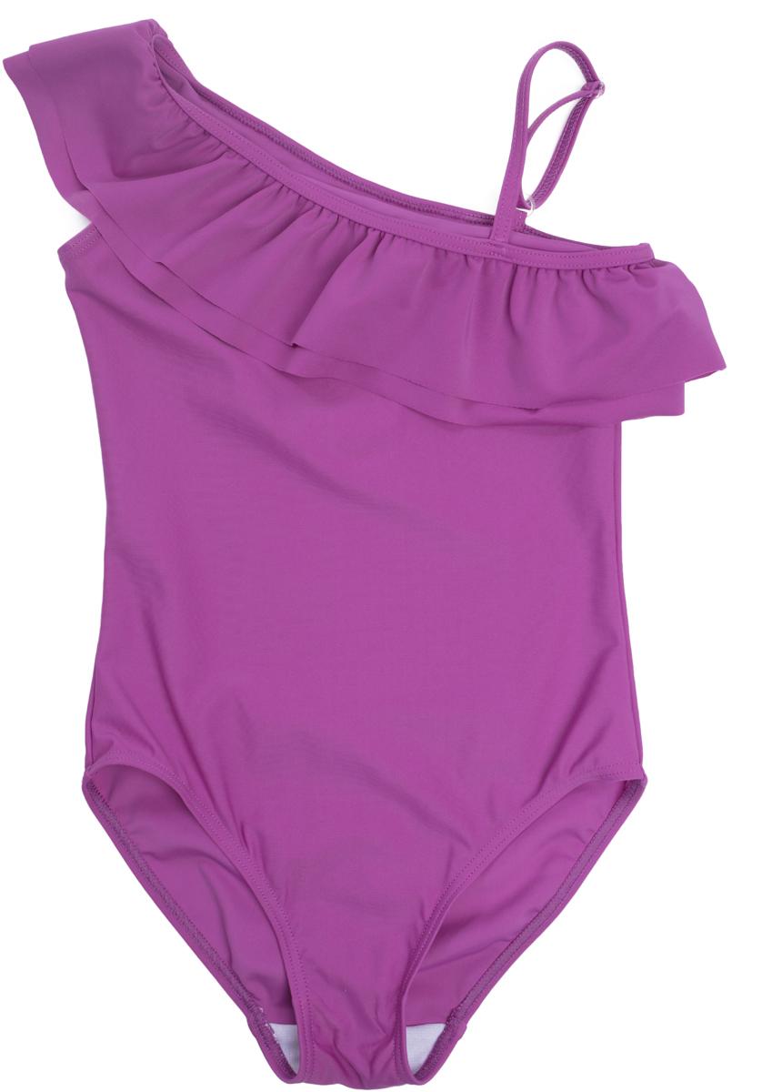 Купальник слитный для девочки PlayToday Sports Веселые старты, цвет: розовый. 189021. Размер 110 купальник слитный для девочки playtoday baby солнечная палитра цвет розовый 188077 размер 98