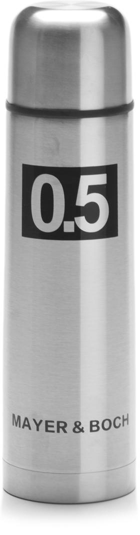 Термос Mayer & Boch, 500 мл. 27607, цвет: серебристый, 500 мл. 27607