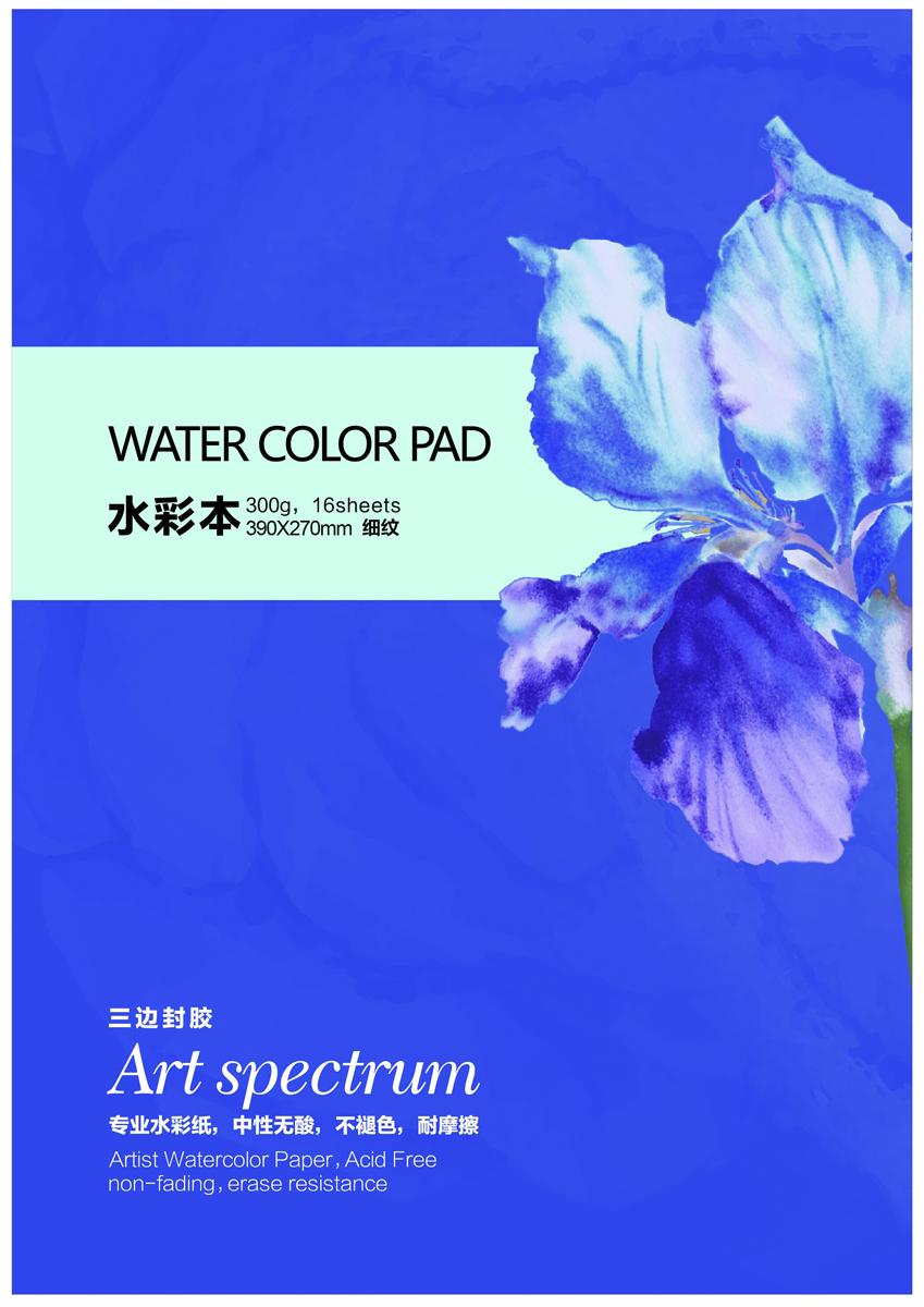 Potentate Бумага для рисования Watercolor Block Smooth Surface 16 л 390 x 270 мм - Бумага и картон