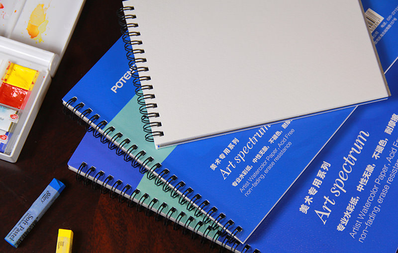 Potentate Бумага для рисования Watercolor Pad Smooth Surface 16 л 390 x 270 мм - Бумага и картон