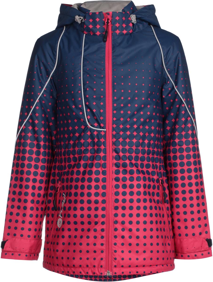 Куртка для девочек atPlay!, цвет: розовый. 1jk811. Размер 1461jk811