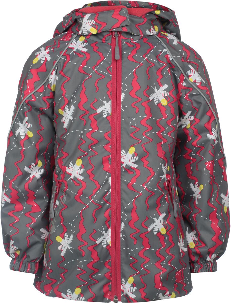 Куртка для девочек atPlay!, цвет: серый. 1jk803. Размер 86 куртка для мальчика atplay цвет серый 2jk710 размер 128 8 9 лет