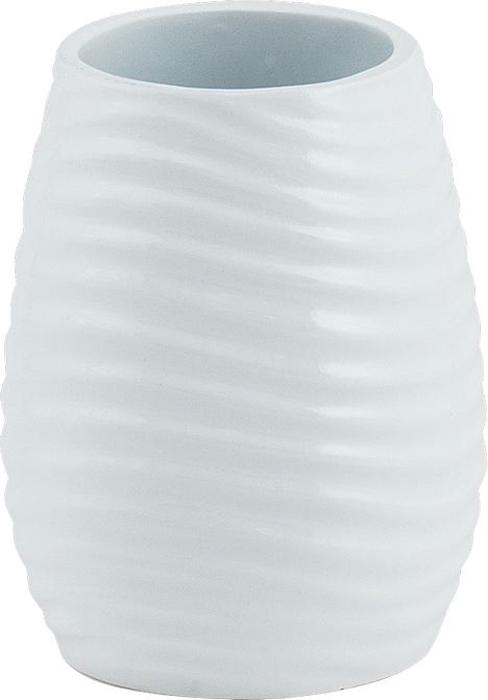 """Стакан для зубных щеток из коллекции Brissen """"Bosco"""" — это современный атрибут для ванной комнаты, изготовленный из полирезина. У изделия оригинальный внешний вид. Стакан прекрасно смотрится в классическом и современном интерьере. Материал стакана приятен на ощупь и легко чистится: загрязнения легко устраняются с поверхности при помощи мыльной воды."""