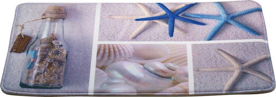 Коврик для ванной Brissen Cruise, цвет: голубой, 50 х 80 смSWM-6005Коврик Brissen Cruise способен наполнить ванную комнату атмосферой уюта и домашнего тепла. Микрофибра, из которой изготовлено изделие, отличается непревзойденной мягкостью, особой прочностью, гигроскопичностью. Такое сочетание качеств особенно ценно для текстиля, который планируется использовать в условиях повышенной влажности. Латексная основа предотвращает скольжение коврика на гладкой плитке.